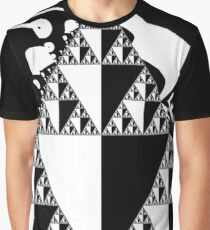 Mono Sierpinski Blog10 Graphic T-Shirt