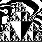 Mono Sierpinski Blog10 by Rupert Russell