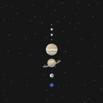 Solar system (vector) by nanscljc