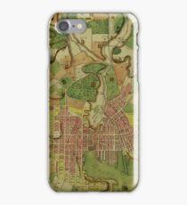 Map Of Baltimore 1801 iPhone Case/Skin