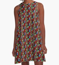 Small World A-Line Dress