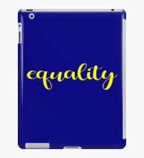 Equality iPad Case/Skin