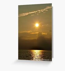 Sunset Beach, Cape May, NJ Greeting Card