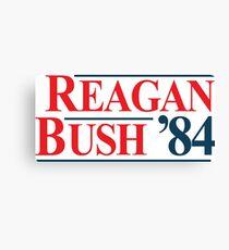 Legendary Regan Bush 84 Campaign Canvas Print
