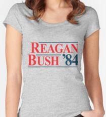 Legendary Regan Bush 84 Campaign Women's Fitted Scoop T-Shirt