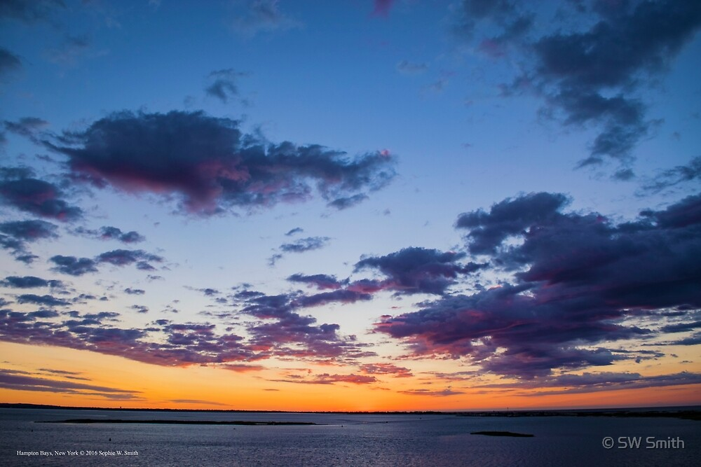 Waiting For Sunrise | Hampton Bays, New York by © Sophie W. Smith