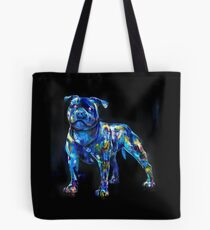 dog in the dark Tote Bag