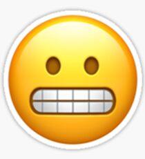 Image result for grimace emoji