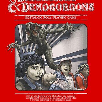 Dimensions & Demogorgons by BadEye