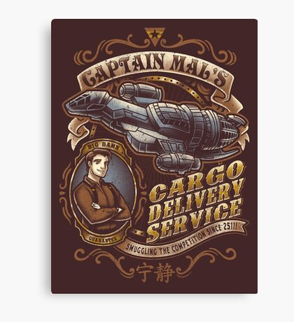 Capt. Mal's Cargo Delivery Canvas Print