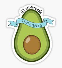 Es ist eine Avocado! Sticker