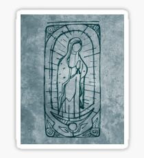 Mary Virgin of Guadalupe Sticker