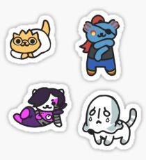 Monster Atsume: Escouade d'Anime Sticker
