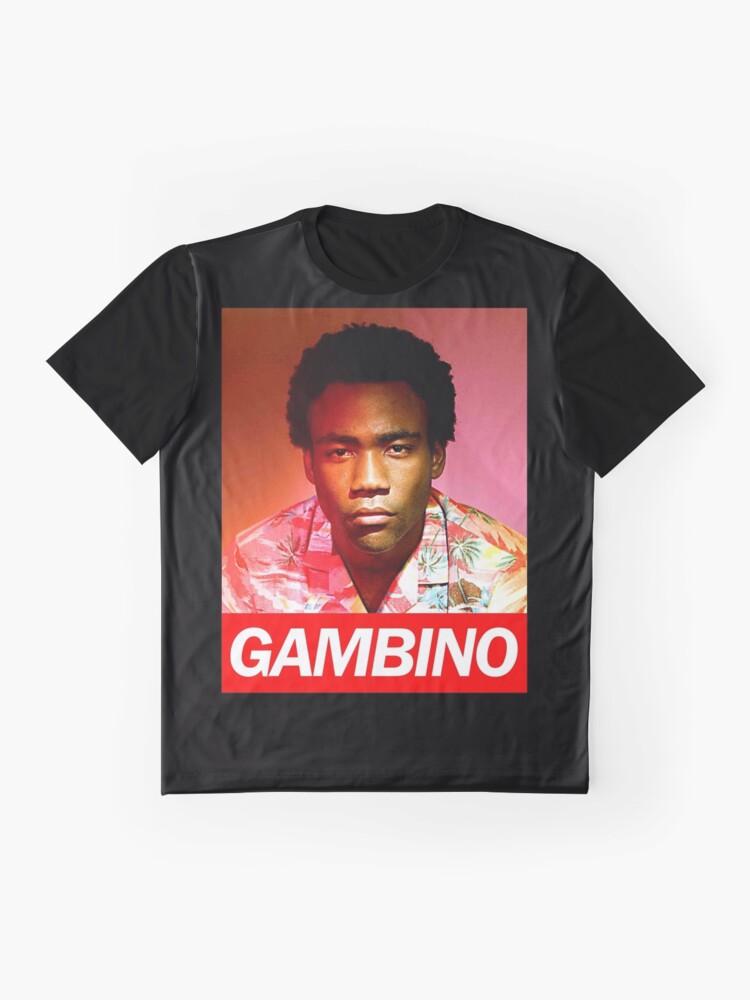 Alternative Ansicht von Gambino Grafik T-Shirt