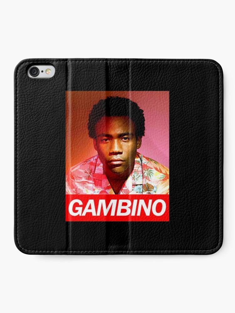 Alternative Ansicht von Gambino iPhone Flip-Case