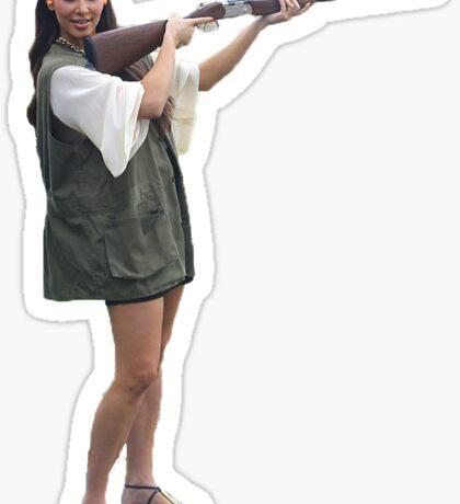 Kardashians with guns: Kim Sticker