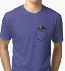 Harambe in Pocket  Tri-blend T-Shirt