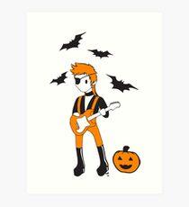 Halloween Jack Art Print