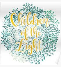 Children of the Light flores Poster