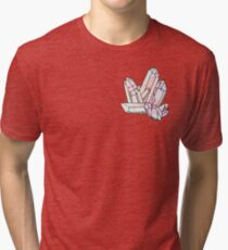 Galaxy Crystal Graphic Tri-blend T-Shirt