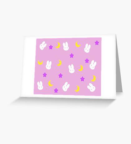 Usagi's Blanket Greeting Card