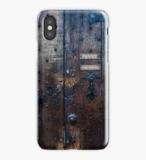 The Vestry - Private iPhone Case/Skin