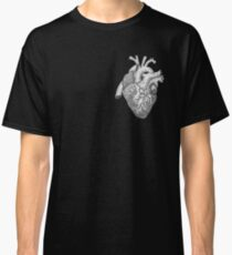 Anatomical Heart Ink Illustration Classic T-Shirt