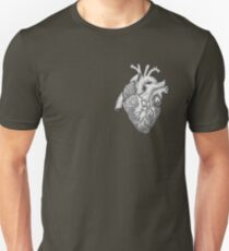 Anatomical Heart Ink Illustration Unisex T-Shirt