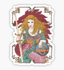 Sword of Gaia's Globe Sticker