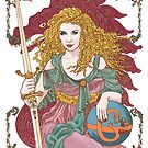 Sword of Gaia's Globe by redqueenself