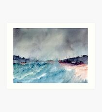 Stormy Afternoon Art Print