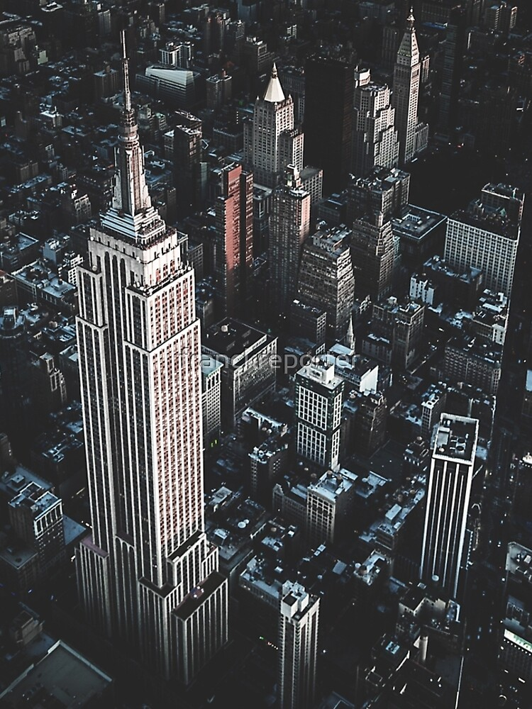 empire state building in nyc by franckreporter