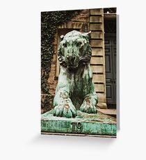 Princeton Tiger 3 Greeting Card