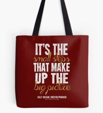 Small Steps Big Picture T-shirts & Homewares Tote Bag