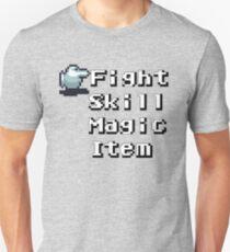 Turn-Based Battle Menu T-Shirt