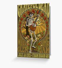 Grateful Dead Summer Jam Greeting Card