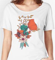 Botanical pattern 010 Women's Relaxed Fit T-Shirt