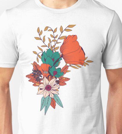 Botanical pattern 010 Unisex T-Shirt