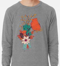 Botanisches Muster 010 Leichtes Sweatshirt