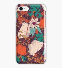 Botanical pattern 010 iPhone Case/Skin