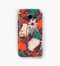 Botanical pattern 010 Samsung Galaxy Case/Skin