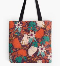 Botanical pattern 010 Tote Bag