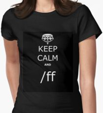 League KCA /ff Women's Fitted T-Shirt