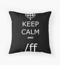 League KCA /ff Throw Pillow