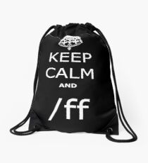 League KCA /ff Drawstring Bag