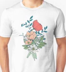 Botanical pattern 001 Unisex T-Shirt
