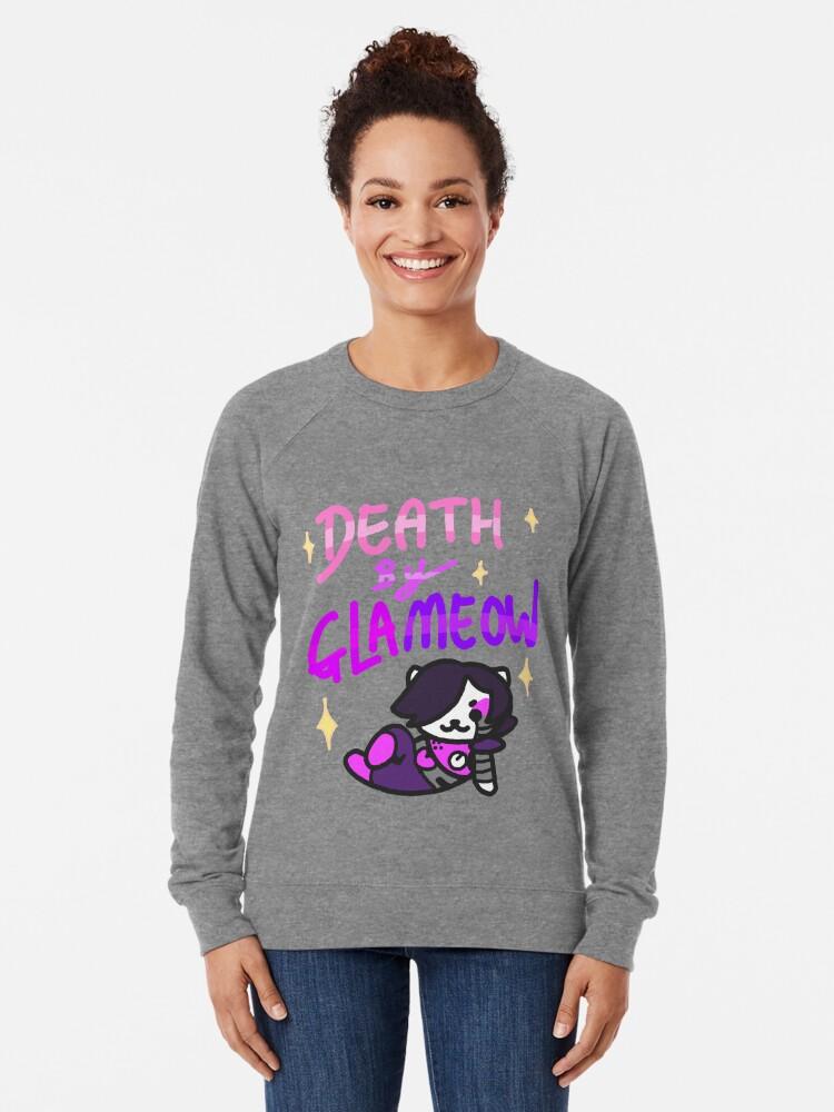 Alternative Ansicht von Tod von Glameow Leichter Pullover