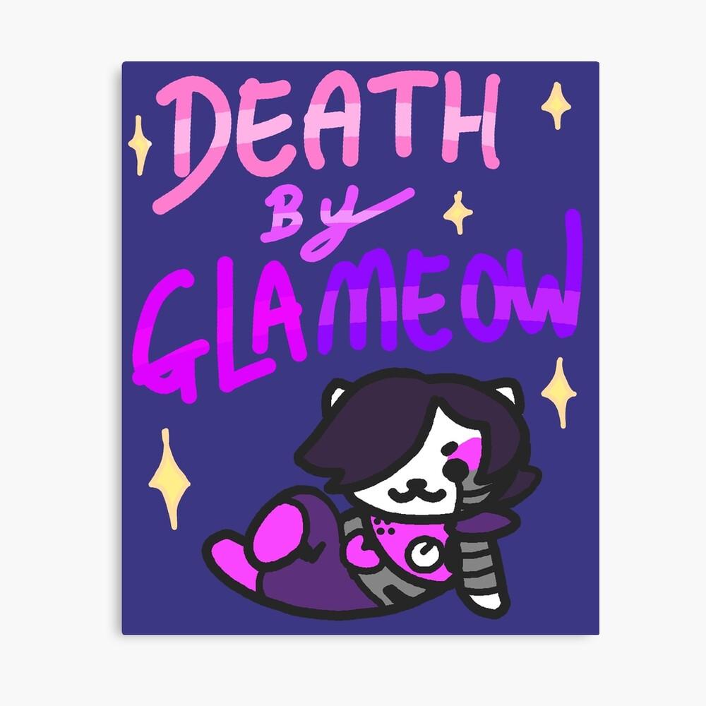 Tod von Glameow Leinwanddruck