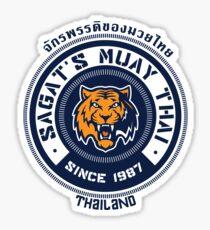 Sagat's Muay Thai 2 Sticker