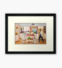 The Lobsters Framed Print